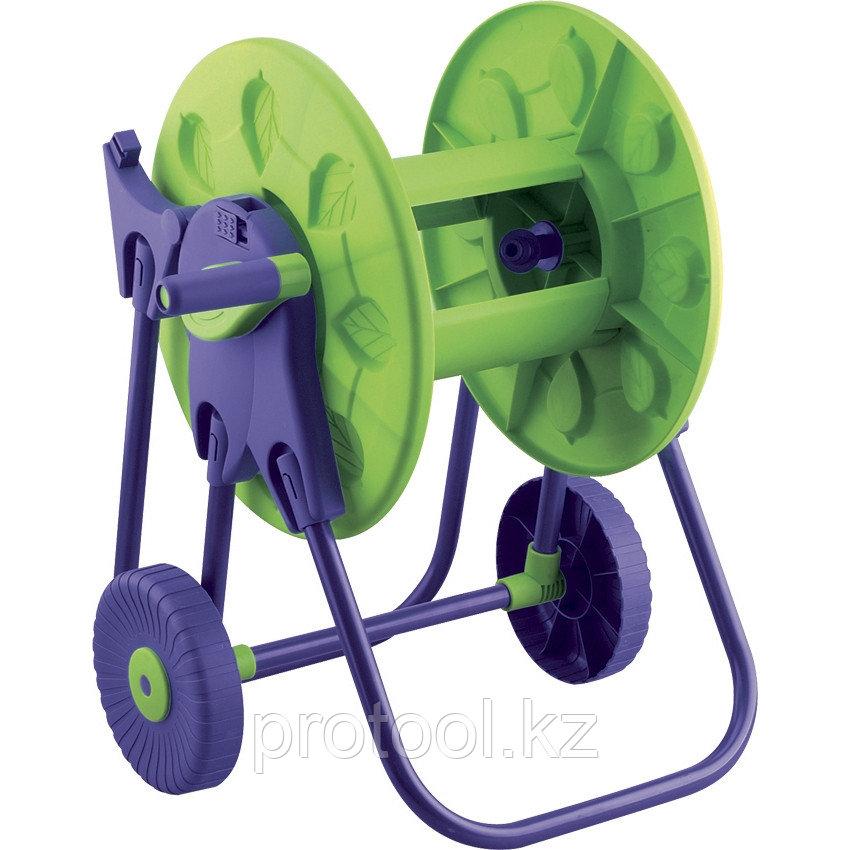 Катушка для шланга, 30 м, на колесах// PALISAD