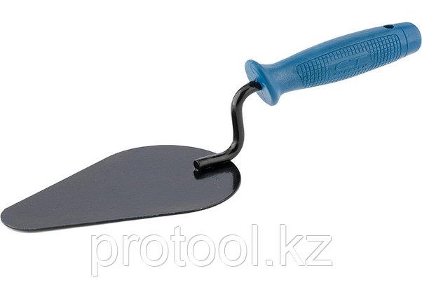 Кельма печника, стальная, пластиковая ручка// СИБРТЕХ/ Россия, фото 2