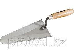 Кельма стальная, 160 мм, деревянная ручка// SPARTA