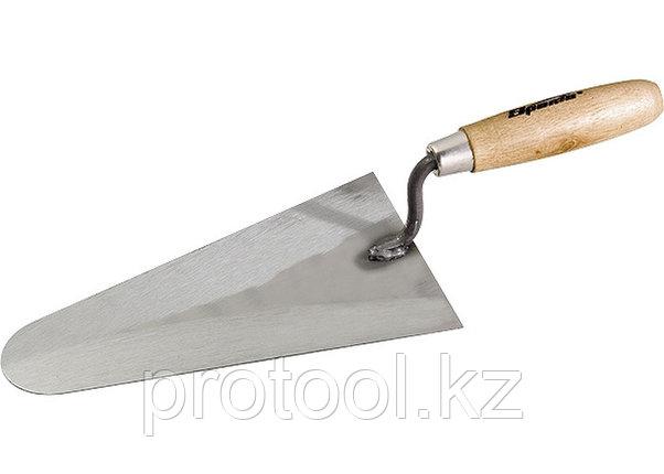 Кельма стальная, 160 мм, деревянная ручка// SPARTA, фото 2