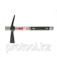 Кирка MINI, двухплоскостная, 500 г, фибергласовая обрезиненная рукоятка 385 мм// MATRIX
