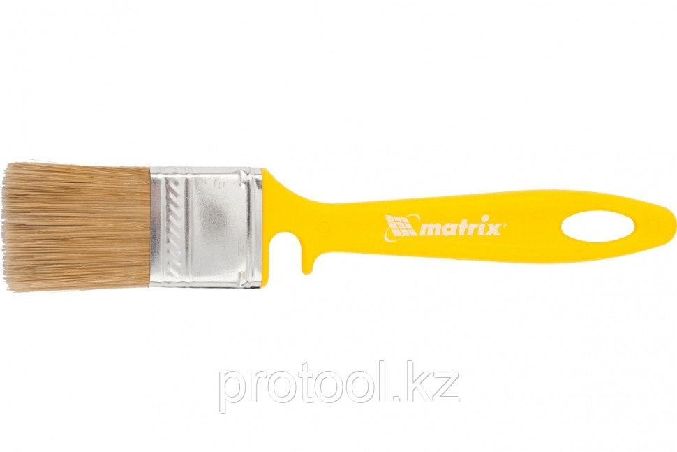 """Кисть флейцевая """"ЛАКИ"""" 35*10 мм// MATRIX Color Line"""