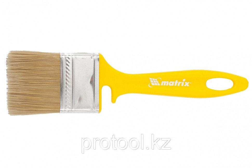"""Кисть флейцевая """"ЛАКИ"""" 50*12 мм// MATRIX Color Line"""