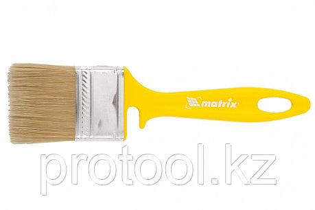 """Кисть флейцевая """"ЛАКИ"""" 50*12 мм// MATRIX Color Line, фото 2"""