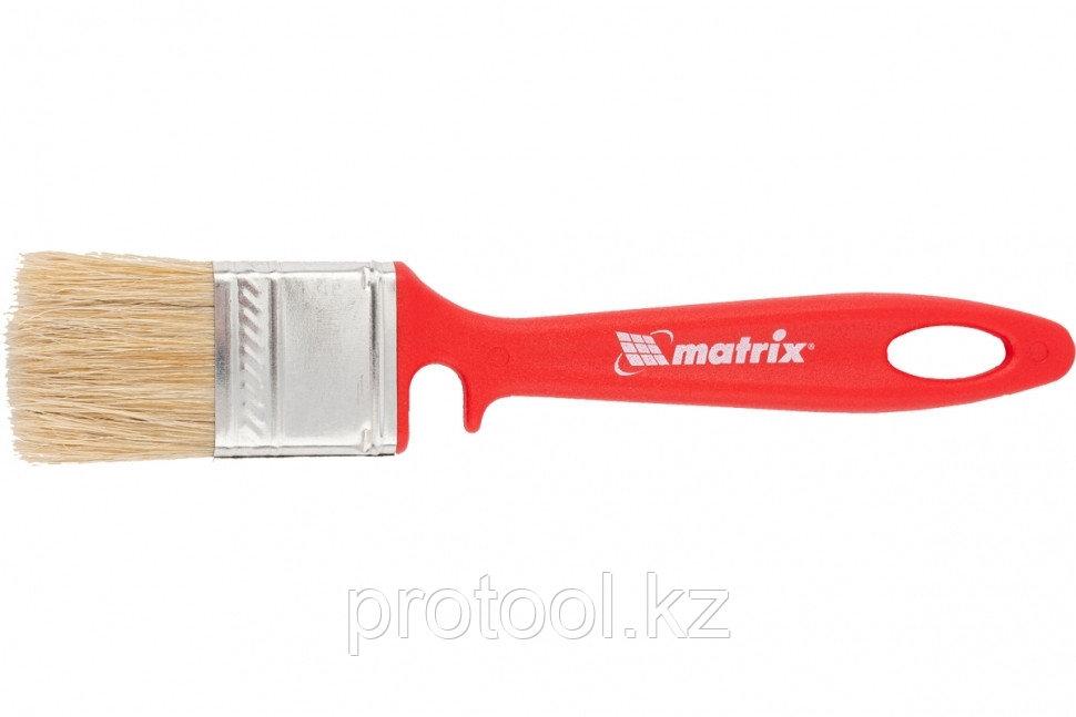 """Кисть флейцевая """"ЭМАЛИ""""  35*10 мм// MATRIX Color Line"""
