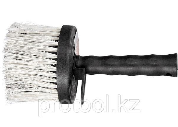 Кисть-макловица круглая, искусст. щетина, пластмас. корпус, пластмассовая ручка// MTX, фото 2