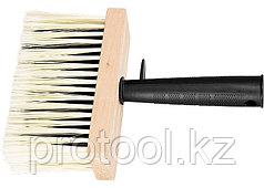 Кисть-макловица, 140 х 52 мм, искусственная щетина, деревянный корпус, пластмассовая ручка// MTX