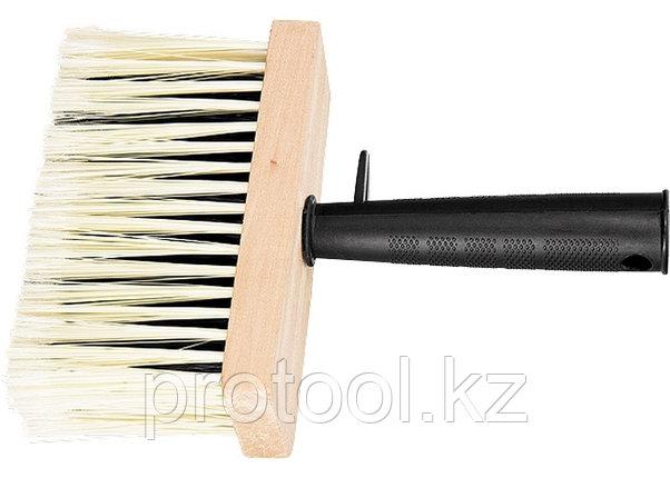 Кисть-макловица, 140 х 52 мм, искусственная щетина, деревянный корпус, пластмассовая ручка// MTX, фото 2