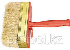Кисть-ракля, 30 х 100 мм, натур. щетина, пластмас. корпус, пластмас. ручка// MTX
