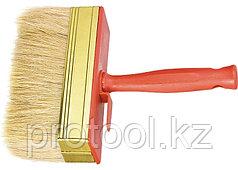 Кисть-ракля, 30 х 70 мм, натур. щетина, пластмас. корпус, пластмас. ручка// MTX