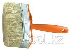 Кисть-ракля, 40х140 мм, натуральная щетина, пластмассовый корпус, пластмассовая ручка// SPARTA