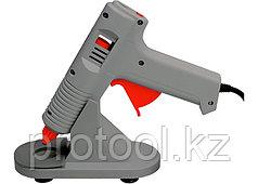 Клеевой пистолет с регулировкой температуры, 100W - 220V, с подставкой// MATRIX