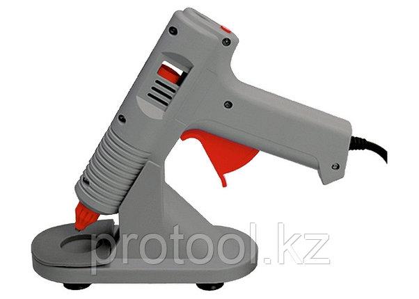 Клеевой пистолет с регулировкой температуры, 70W - 220V, с подставкой// MATRIX, фото 2