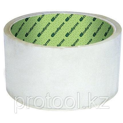 Клейкая лента, 48 мм х 40 м, прозрачный // СИБРТЕХ, фото 2