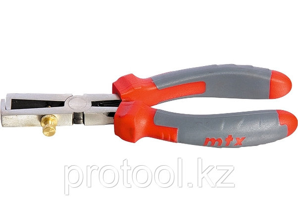 Клещи для снятия изоляции, 160мм, двухкомпонентные рукоятки//MATRIX PROFESSIONAL, фото 2