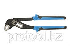 Клещи переставные 250 мм, хром-ванадий, двухкомпонентные рукоятки// БАРС