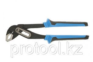 Клещи переставные 250 мм, хром-ванадий, двухкомпонентные рукоятки// БАРС, фото 2