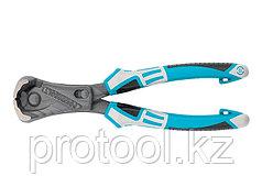 Клещи торцевые усиленные с рычажным механизмом, трехкомпонентные рукоятки, 200 мм// GROSS