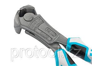 Клещи торцевые усиленные с рычажным механизмом, трехкомпонентные рукоятки, 200 мм// GROSS, фото 2