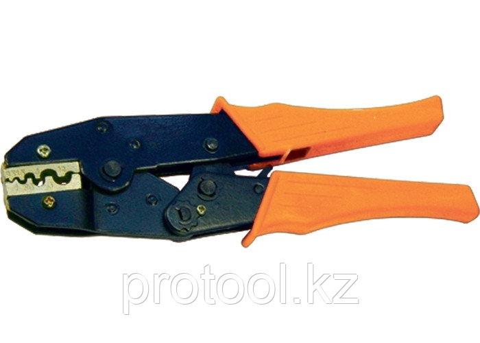 Клещи, 0,5–6 мм, для обжима электрокабеля// SPARTA