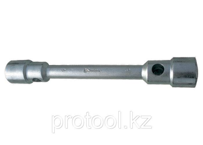 Ключ балонный двухсторонний 24 х 27 мм , толщина 26 мм, длина 350 мм// MATRIX