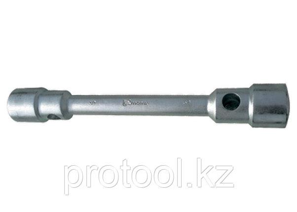 Ключ балонный двухсторонний 24 х 27 мм , толщина 26 мм, длина 350 мм// MATRIX, фото 2