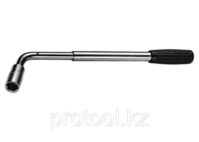 """Ключ баллонный Г - образный 1/2"""" телескопический, 17 х 19 мм// MATRIX"""
