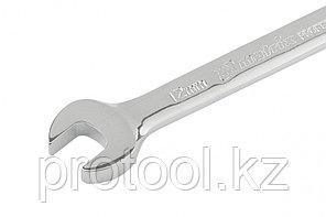 Ключ комбинированный трещоточный, 12мм, CrV, зеркальный хром// MATRIX PROFESSIONAL, фото 2
