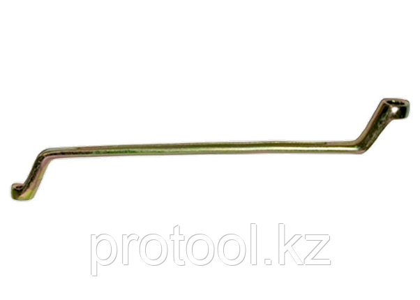 Ключ накидной, 10 х 11 мм, желтый цинк// СИБРТЕХ, фото 2