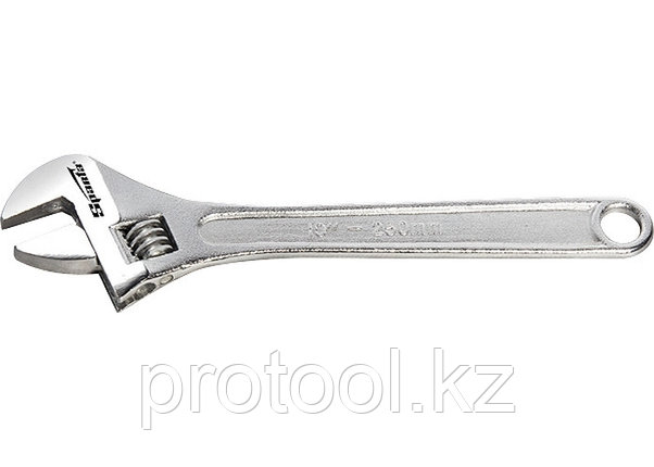 Ключ разводной, 450 мм, хромированный// SPARTA, фото 2