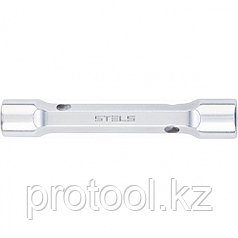 Ключ трубка торцевой усиленный, 10х12 мм, CrV // Stels