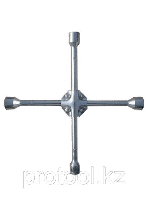"Ключ-крест баллонный, 17 х 19 х 21 мм,  квадрат 1/2"", усиленный, толщ. 16 мм// MATRIX PROFESSIONAL"