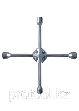 "Ключ-крест баллонный, 17 х 19 х 21 мм,  квадрат 1/2"", усиленный, толщ. 16 мм// MATRIX PROFESSIONAL, фото 2"
