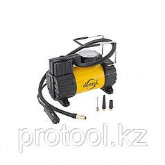 Компрессор автомобильный AC-37, 12 В, 7 атм., 37 л/мин, автомоб. предохранитель// Denzel