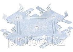 Краб соединительный для профиля KR 0,7 мм, KR 60х27 мм,  цинк// СИБРТЕХ//Россия