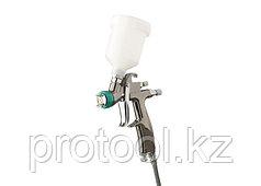 Краскораспылитель AG 970 LVLP , профессиональный, гравитационного  типа, сопло 0,8 мм // Stels