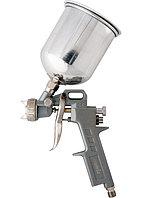 Краскораспылитель пневмат. с верхним бачком V=1,0 л + сопла диаметром 1.2, 1.5 и 1.8 мм// MATRIX