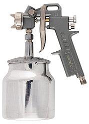 Краскораспылитель пневмат. с нижним бачком V=0,75 л + сопла диаметром 1.2, 1.5 и 1.8 мм// MATRIX