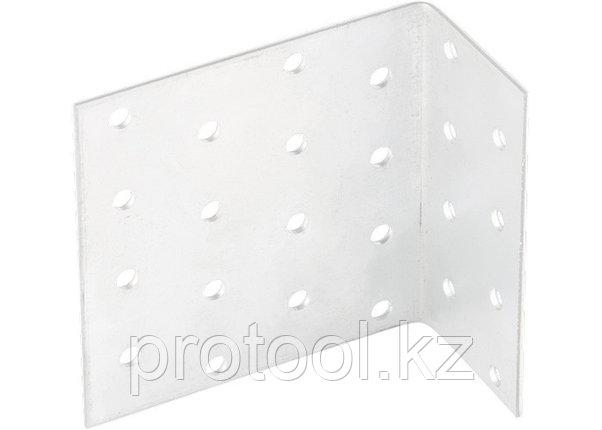 Крепежный уголок анкерный  2,0 мм,  KUL 40x120x80 мм// СИБРТЕХ//Россия, фото 2