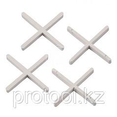 Крестики, 4,0 мм, для кладки плитки, 100 шт.// Сибртех