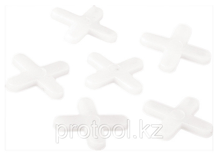 Крестики, 4,0 мм, для кладки плитки, 250 шт.// SPARTA