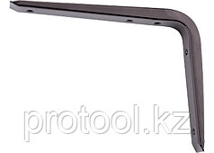 Кронштейн стальной 125х150 мм, коричневый//СИБРТЕХ