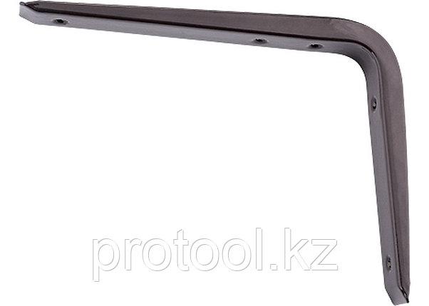 Кронштейн стальной 125х150 мм, коричневый//СИБРТЕХ, фото 2