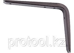 Кронштейн стальной 200х250 мм, коричневый//СИБРТЕХ