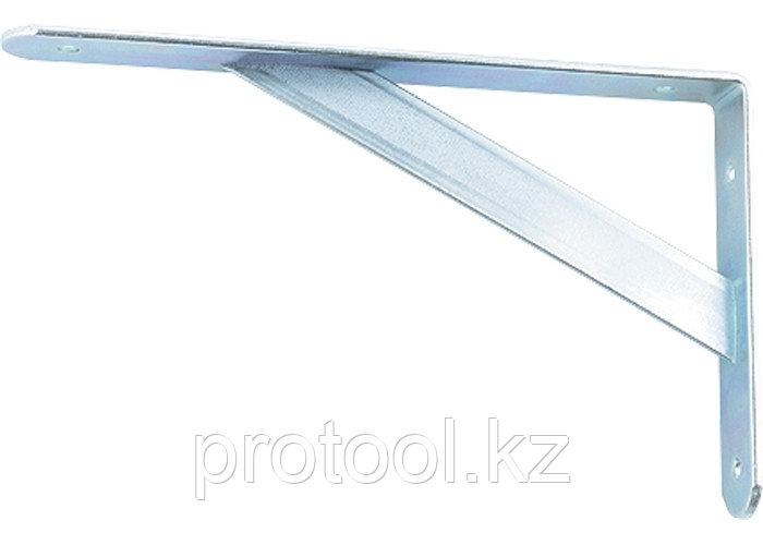 Кронштейн усиленный 250х200х30х4 мм, оцинкованный//СИБРТЕХ