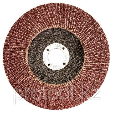 Круг лепестковый торцевой, P 80, 125 х 22,2 мм// MATRIX, фото 2