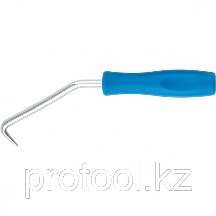 Крюк для вязки арматуры, 210 мм, пластиковая рукоятка // СИБРТЕХ, фото 2
