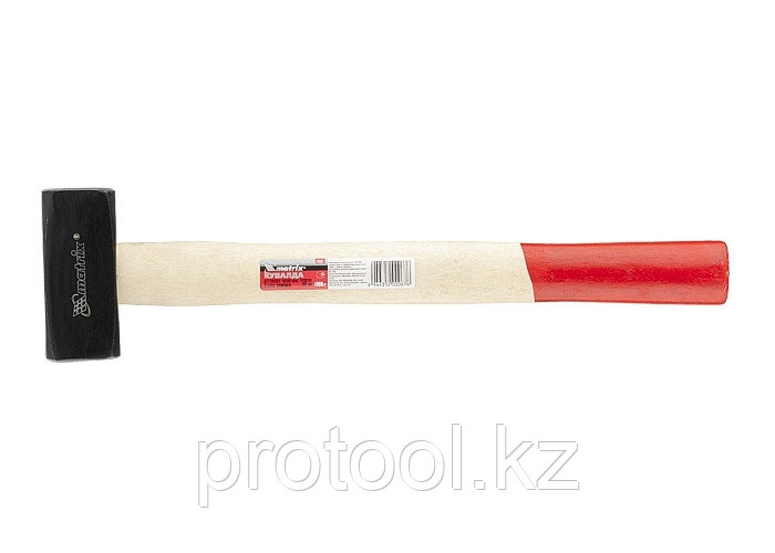 Кувалда, 1000 г, деревянная рукоятка// MATRIX