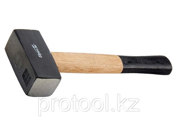 Кувалда, 1000 г, кованая головка, деревянная двухцветная рукоятка// SPARTA, фото 2