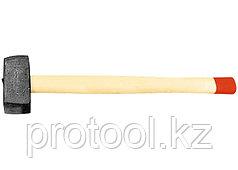 Кувалда, 4000 г, кованая головка, деревянная рукоятка (Павлово) //Россия